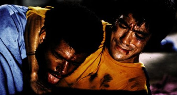 Bruce Lee and Kareem Abdul-Jabbar in Game of Death (1978)