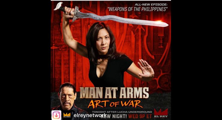 Diana Lee Inosanto on Man At Arms: Art of War