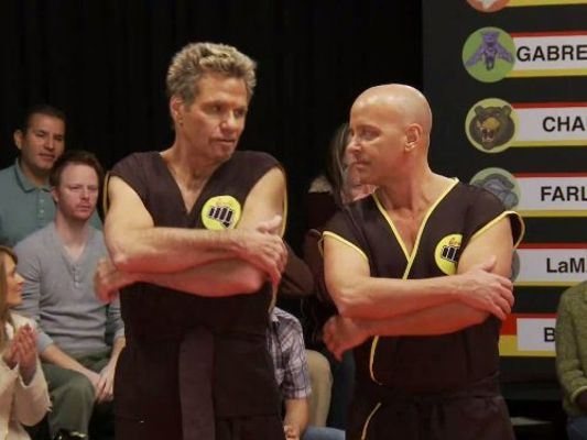 Martin Kove and Ron Thomas in Tosh.0 (2009)