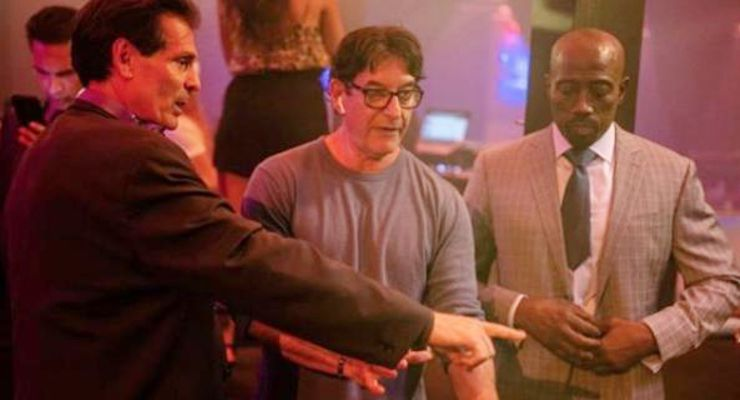 Robert Gillings, Bernard Salzmann-and Wesley Snipes in Paper Empire (2018)