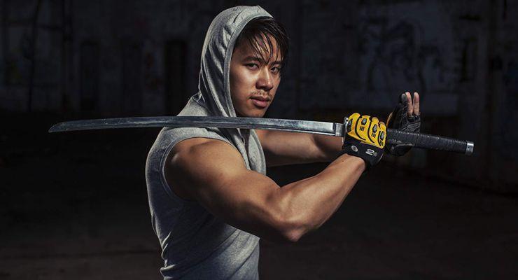 Cha-Lee Yoon with Sword