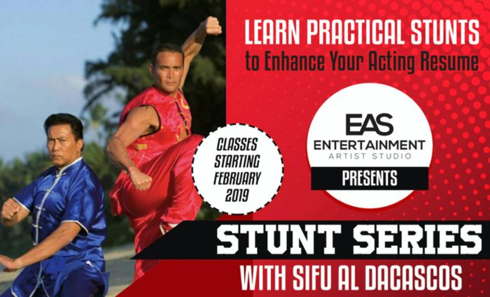 Stunt Series with Sifu Al Dacascos Poster