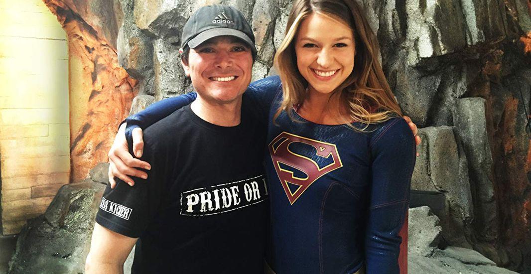 Supergirl Season 1 - David Wald and Melissa Benoist.