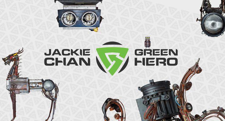 Jackie Chan Green Hero Exhibit at The Leonardo Museum