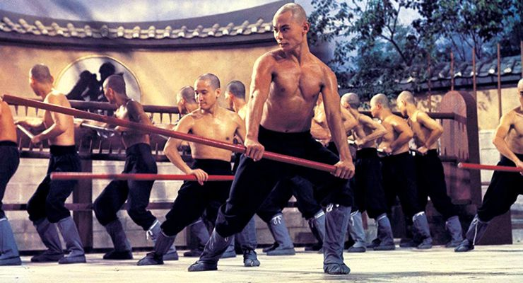 Chia-Hui Liu in The 36th Chamber of Shaolin (1978)