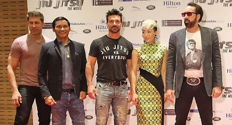 Jiu Jitsu (2020) Cast