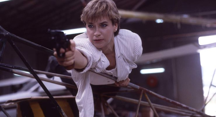 Cynthia Rothrock in Righting Wrongs (1986)