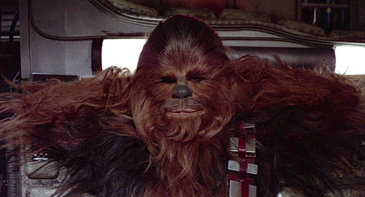 Peter Mayhew as Chewbacca in Star Wars (1977)