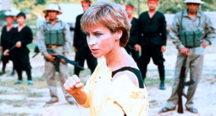 Cynthia Rothrock in No Retreat, No Surrender 2: Raging Thunder (1987)
