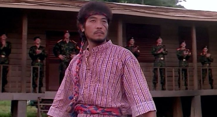 Jung-Lee Hwang in No Retreat, No Surrender 2: Raging Thunder (1987)