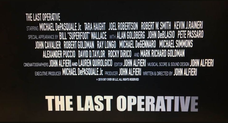 The Last Operative (2019) Credits