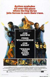 Three the Hard Way (1974) Poster