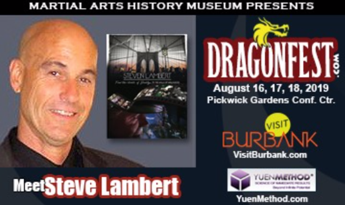 Meet Steven Lambert at DRAGONFEST on August 17, 2019