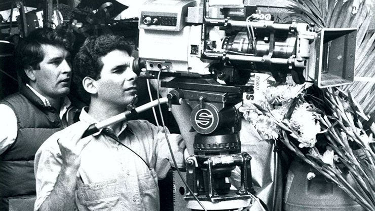 Sheldon Lettich filming Double Impact (1991)
