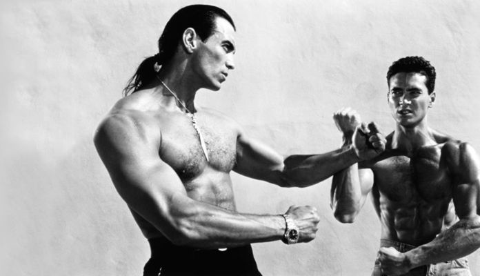 Paco Christian Prieto and Mark Dacascos in Only The Strong (1993)