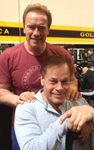 Arnold Schwarzenegger and Franco Columbu