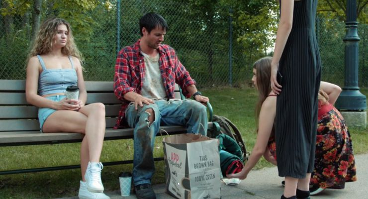 Dinner Delivered in the Park in Eternal code (2019)