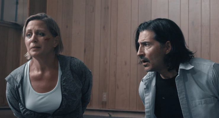 Erika Hoveland and Billy Wirth in Eternal Code (2019)