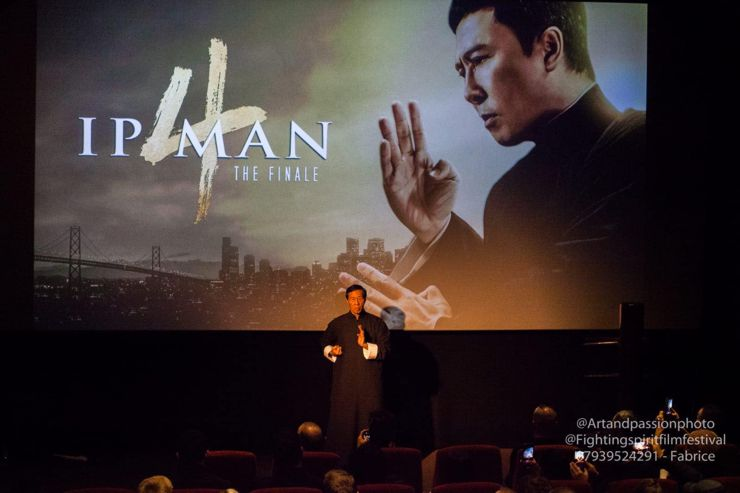 Grand Master Samuel Kwok at Ip Man 4 : The Finale (2019) Screening