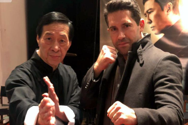 Grand Master Samuel Kwok and Scott Adkins at Ip Man 4 : The Finale (2019) Screening