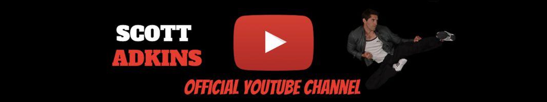 Scott Adkins Official Youtube Channel Art